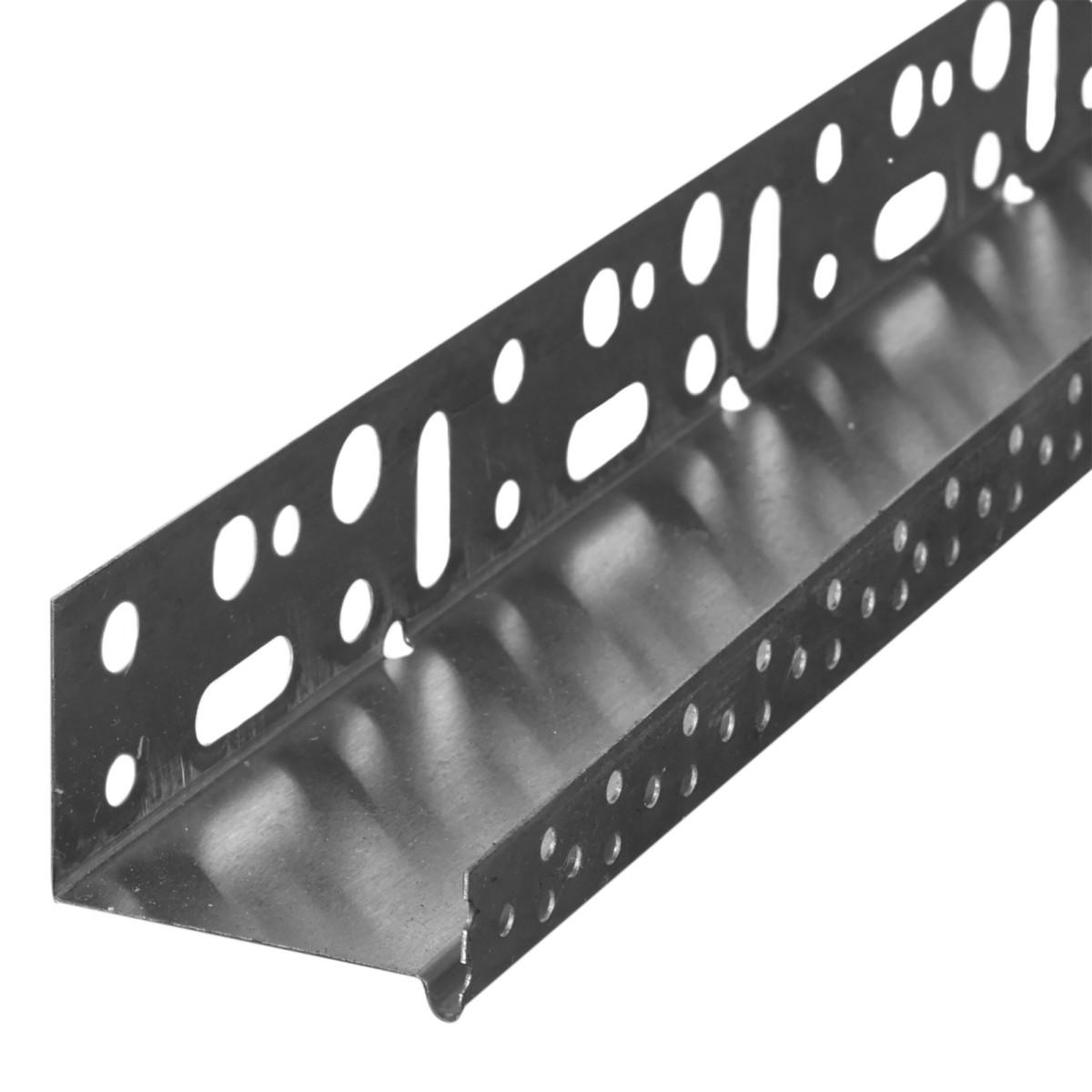 Профиль цокольный 50х2500 мм алюминий