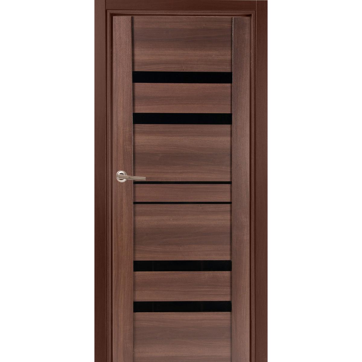 Дверь межкомнатная глухая Artens Велдон 90x200 см цвет мокко без фурнитуры