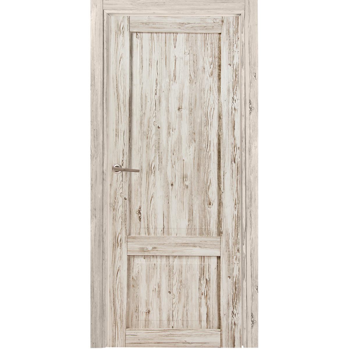 Дверь Межкомнатная Глухая Рустик 60x200 Цвет Северная Сосна