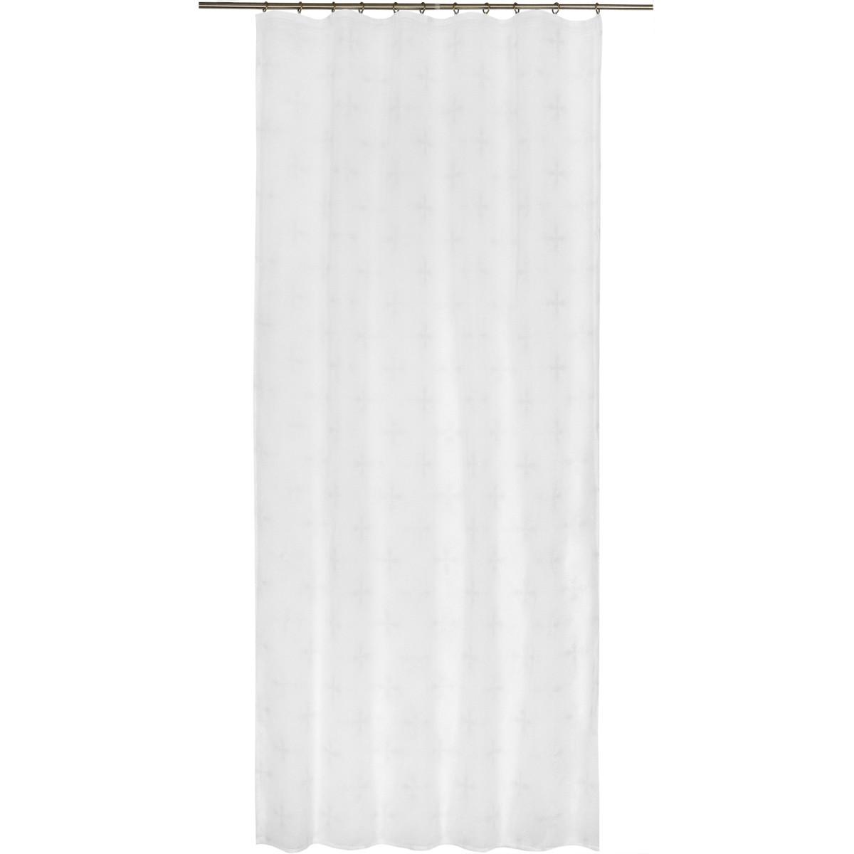 Тюль на ленте Ananzieta 140х260 см цвет белый