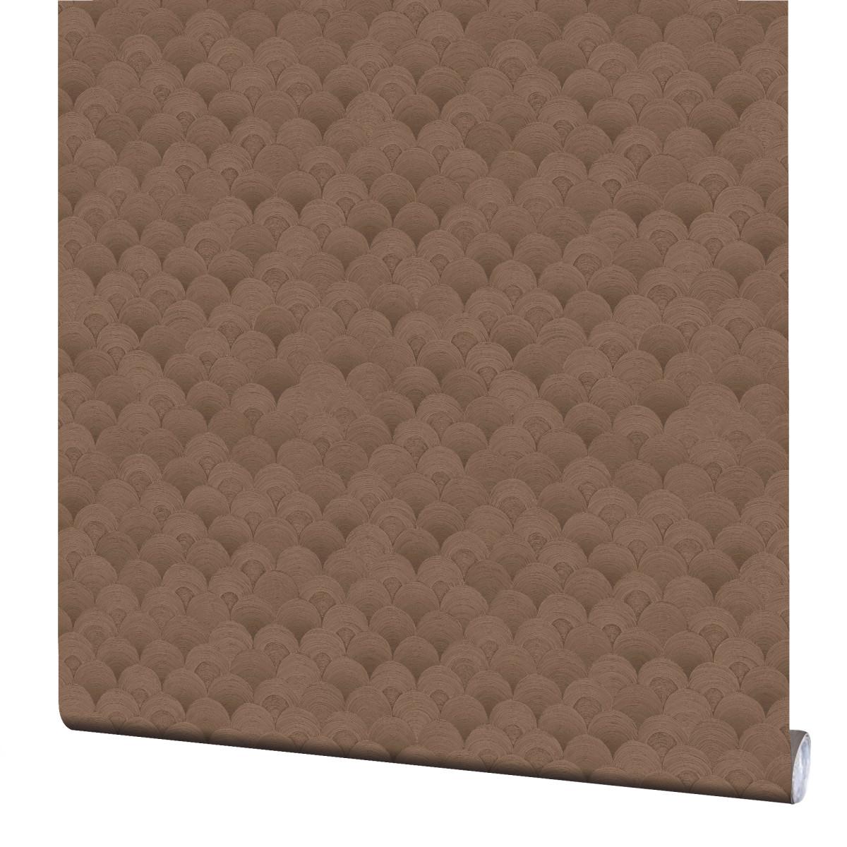 Обои флизелиновые Erismann Elegance коричневые 1.06 м 3601-8