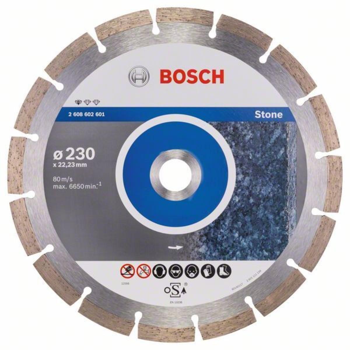 Диск Алмазный По Камню Bosch Standart 230x2223