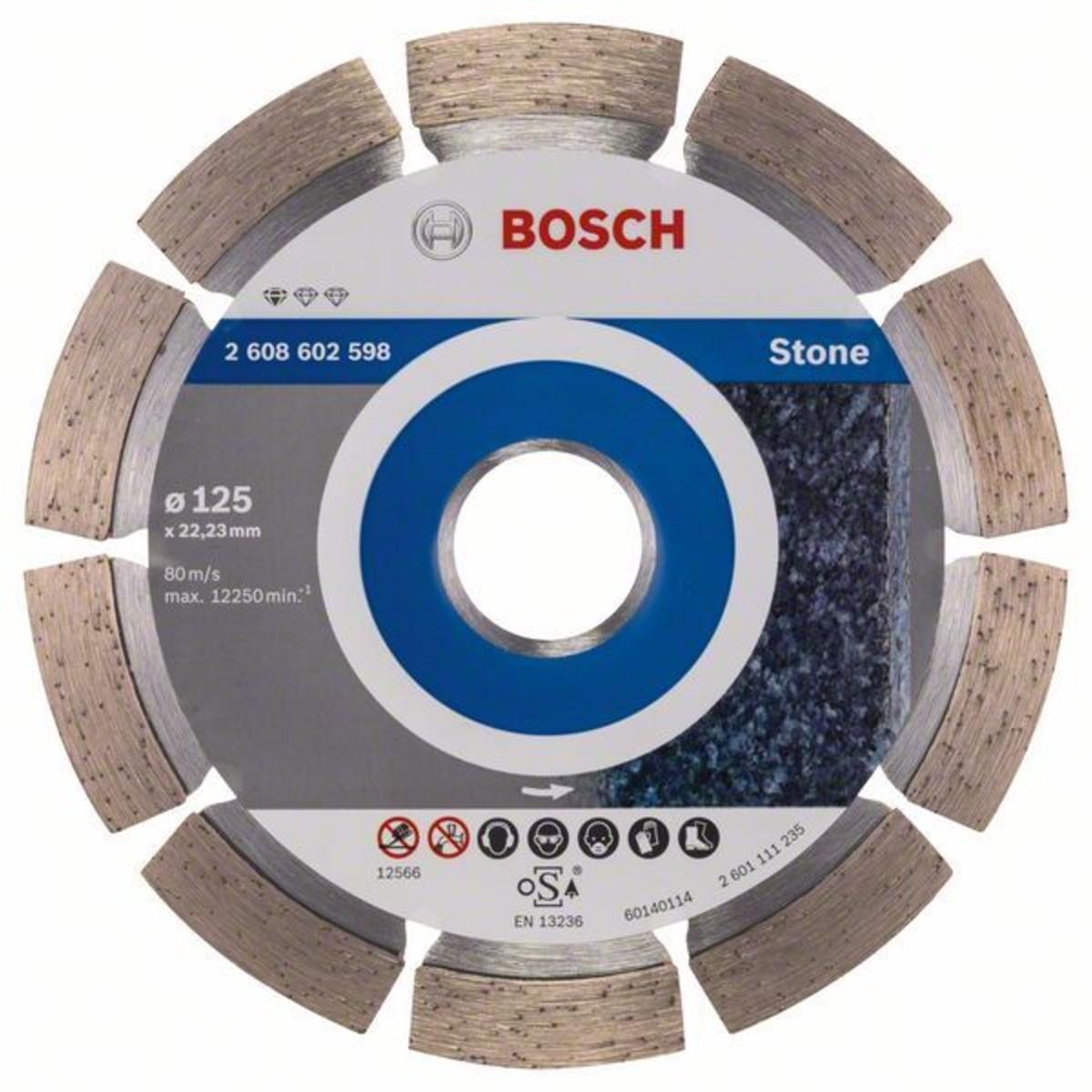 Диск Алмазный По Камню Bosch Standart 125x2223