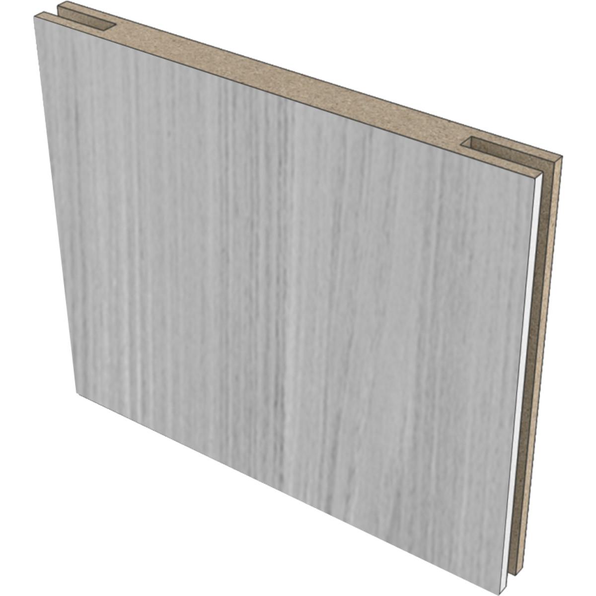 Добор дверной коробки «Техно» 150x10 мм МДФ/CPL цвет дуб светло-серый