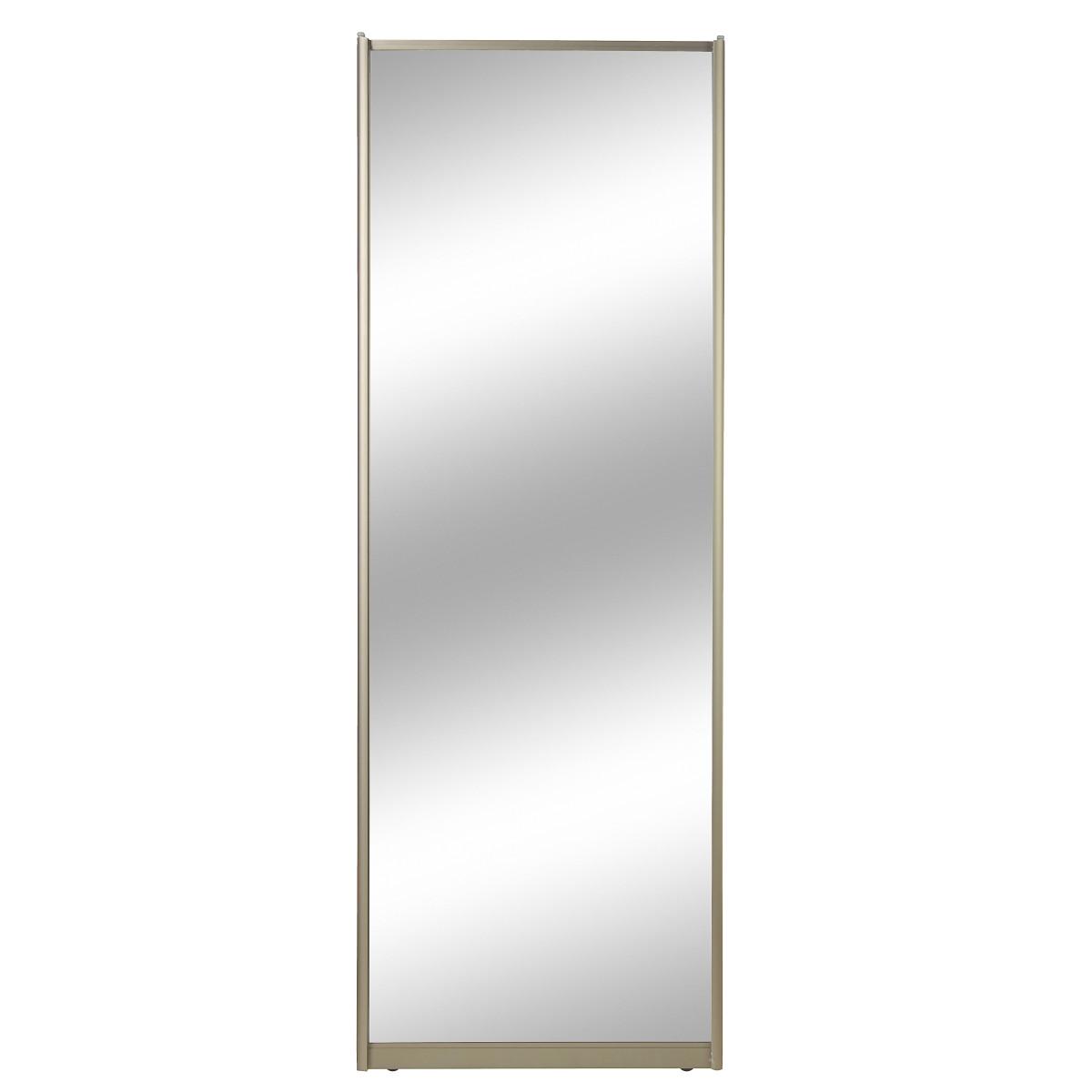 Дверь-купе  2555х904 Зеркало/шампань
