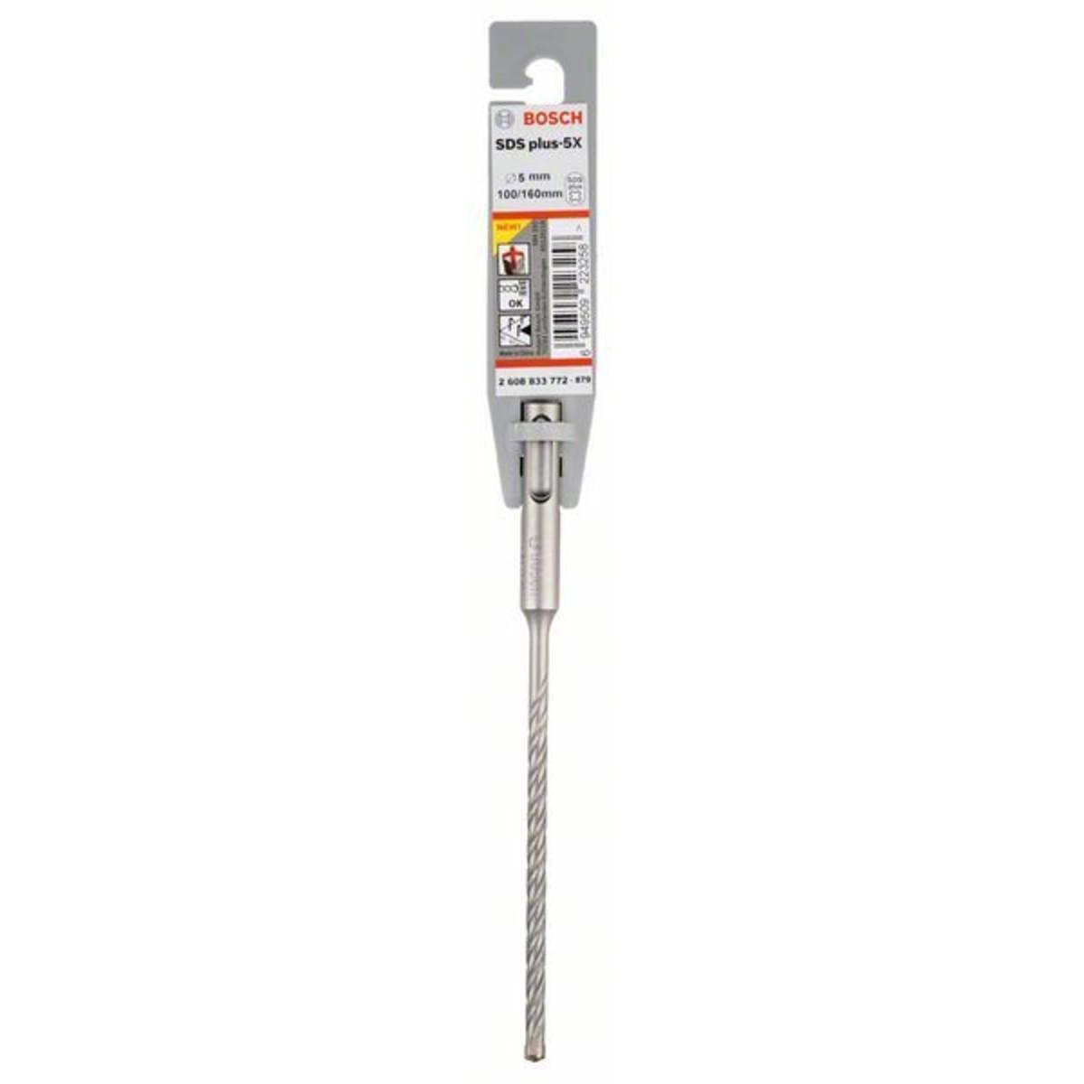 Бур по бетону SDS-plus 5X Bosch 5x100x160 мм