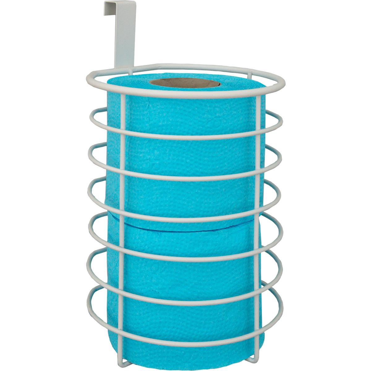 Органайзер Для Туалетной Бумаги Ferro 2 Рулона Сталь Цвет Белый