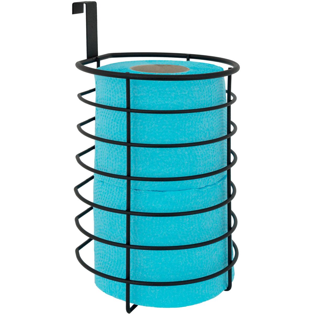 Органайзер Для Туалетной Бумаги Ferro 2 Рулона Сталь Цвет Черный