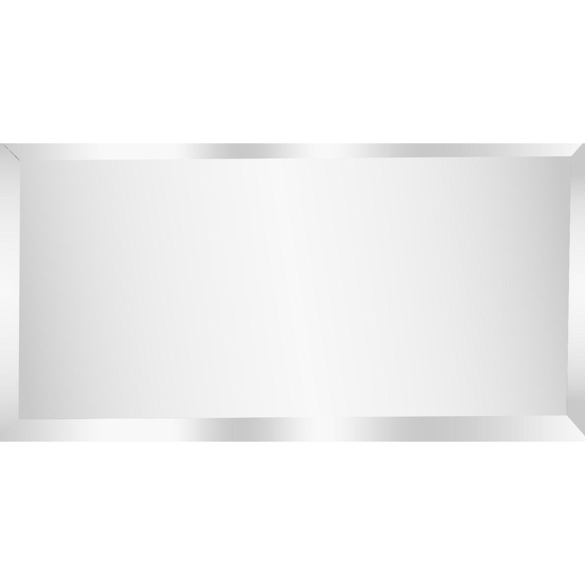 Плитка зеркальная Mirox 3G прямоугольная 20x10 см цвет серебро