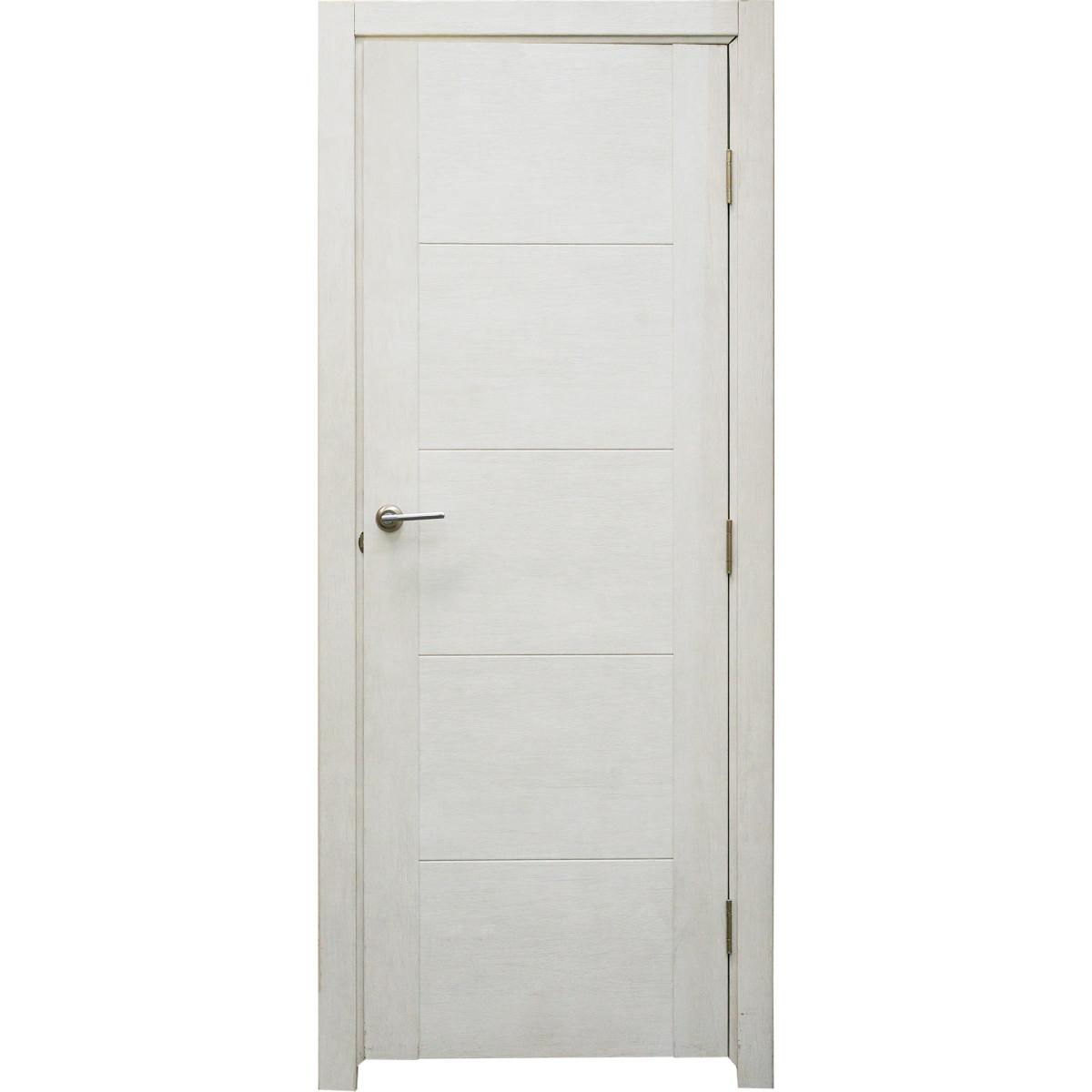Дверь межкомнатная глухая Техно 70x200 см цвет дуб светло-серый
