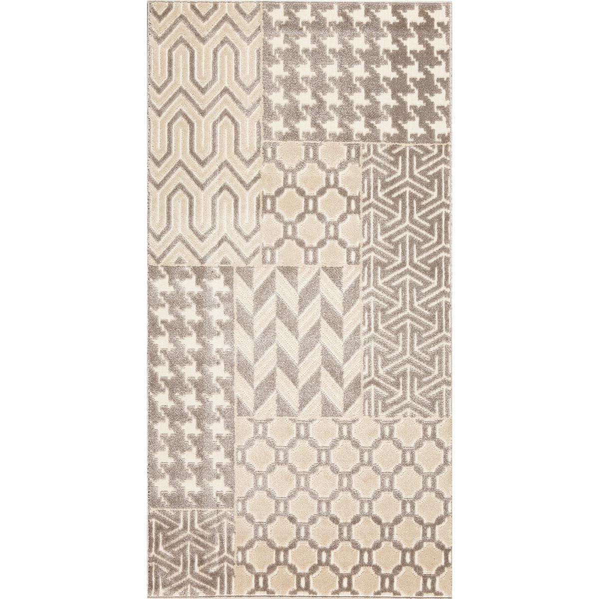 Ковер Reflex 40151/67 0.8х1.5 м цвет серый