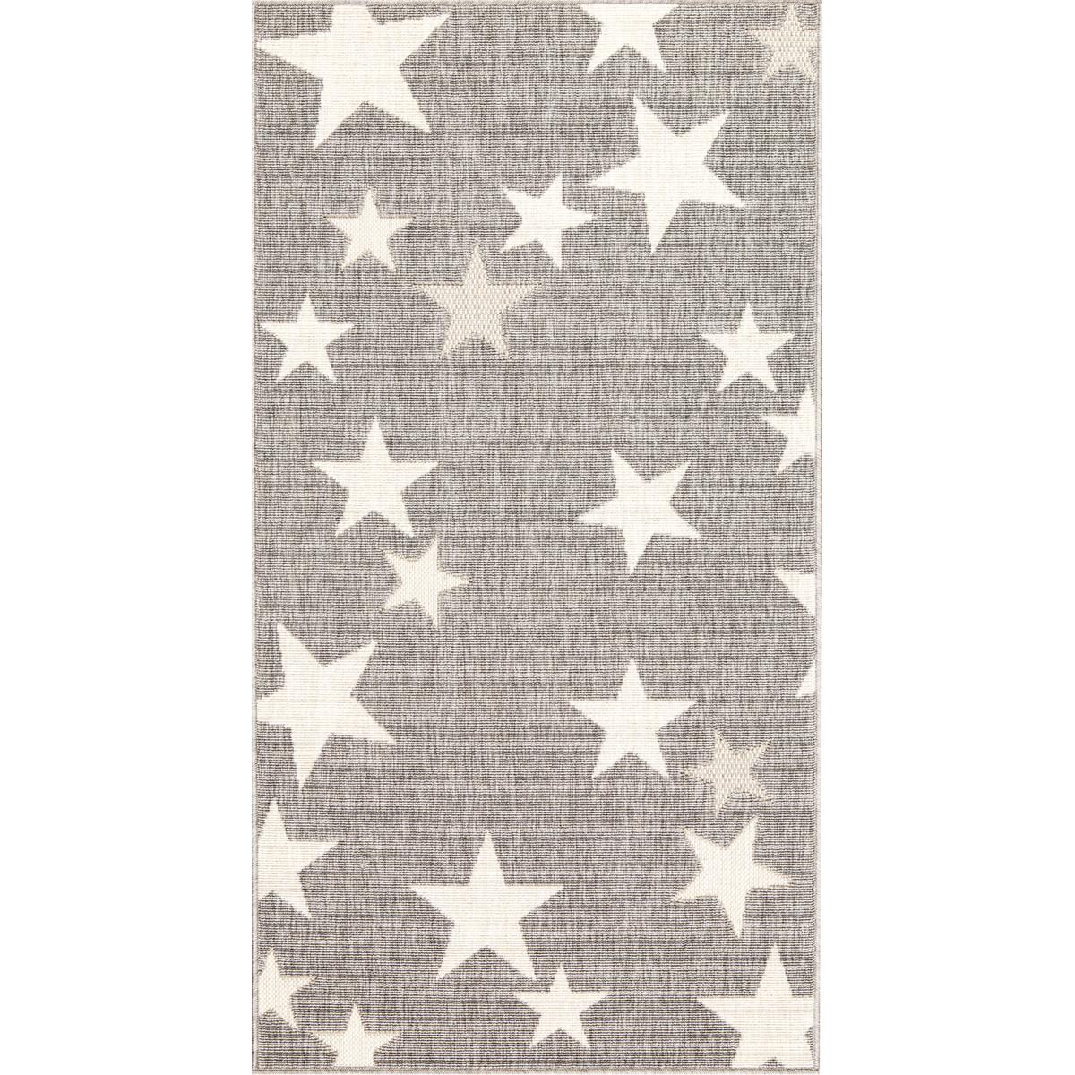 Ковёр Fenix 20422/332 0.8х1.5 м цвет серый