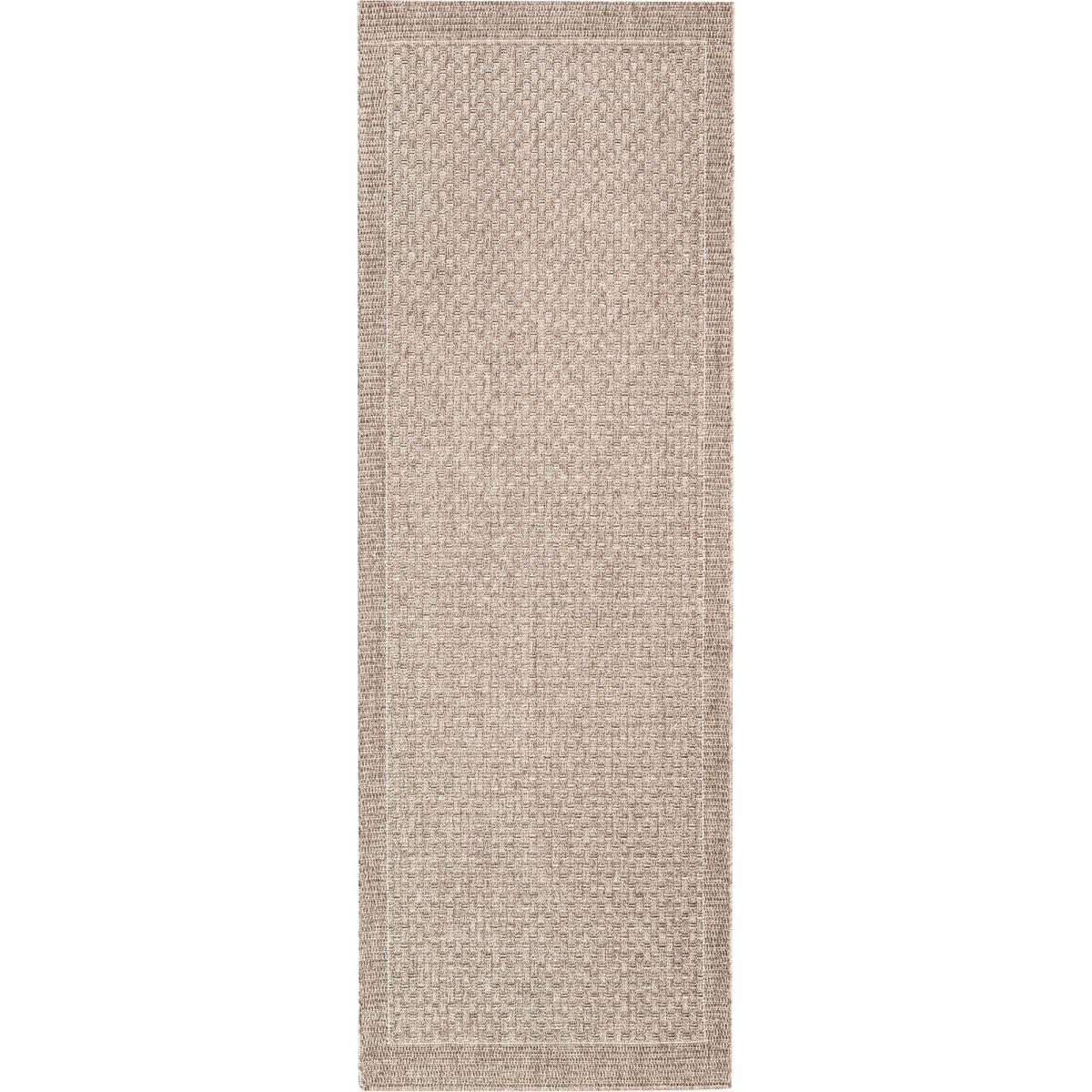 Ковёр Grace 39016/88 0.8х1.5 м цвет тёмно-серый