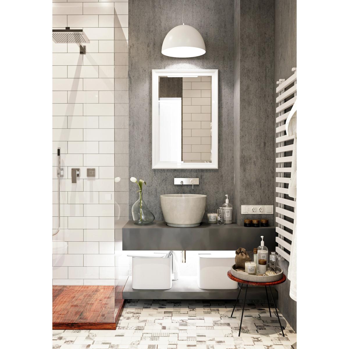 Зеркало в раме Магнолия 60х90 см