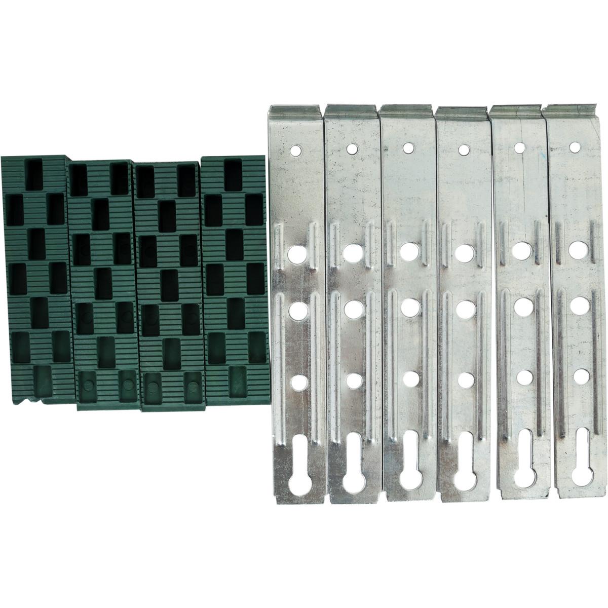 Набор монтажный для окон ПВХ с анкерными пластинами 3.1х26.2х11 см