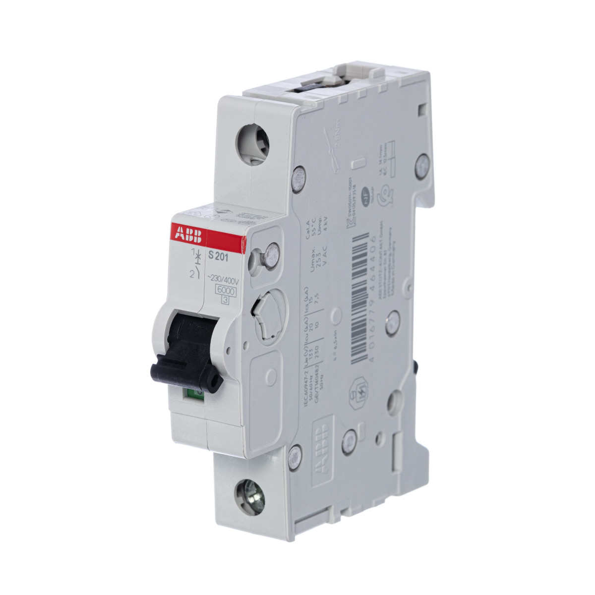 Выключатель автоматический ABB S201 1 полюс 32 А C