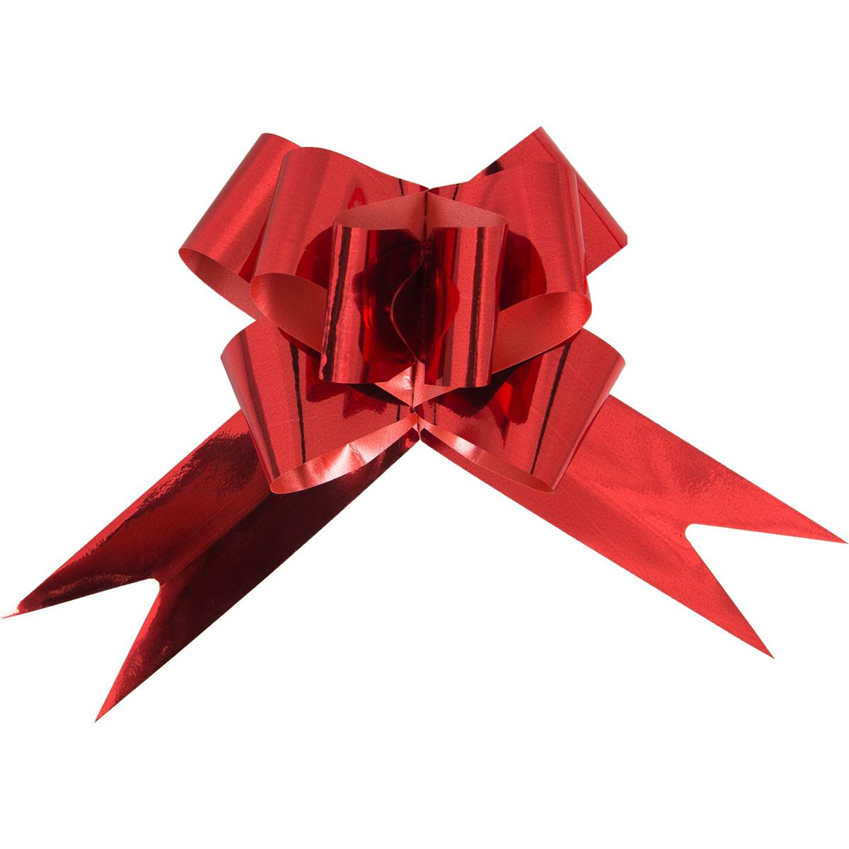 Бант затягивающийся для подарков 4х29.5х0.2 см