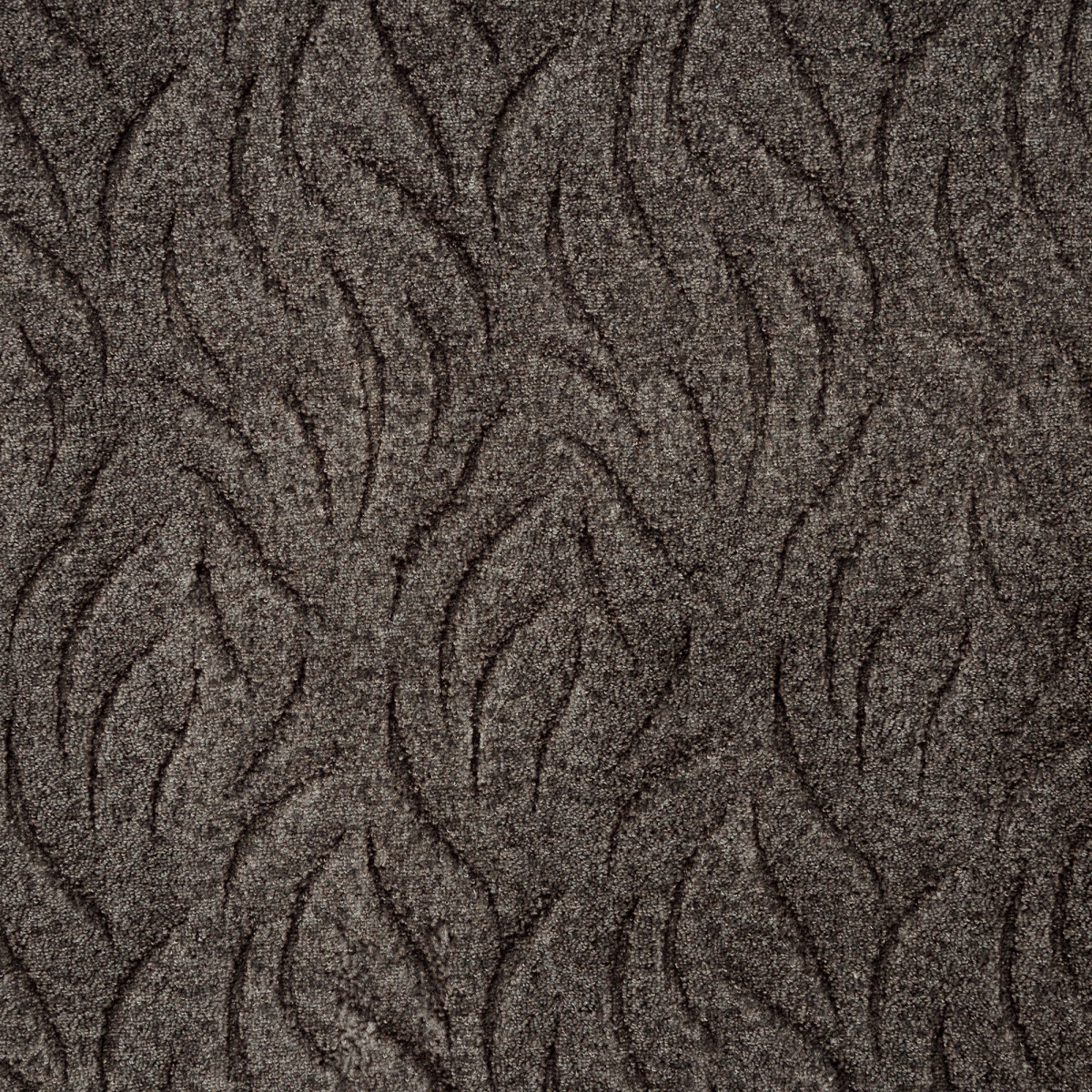Ковровое покрытие Скролл Ветерок 95 3 м цвет шоколадный