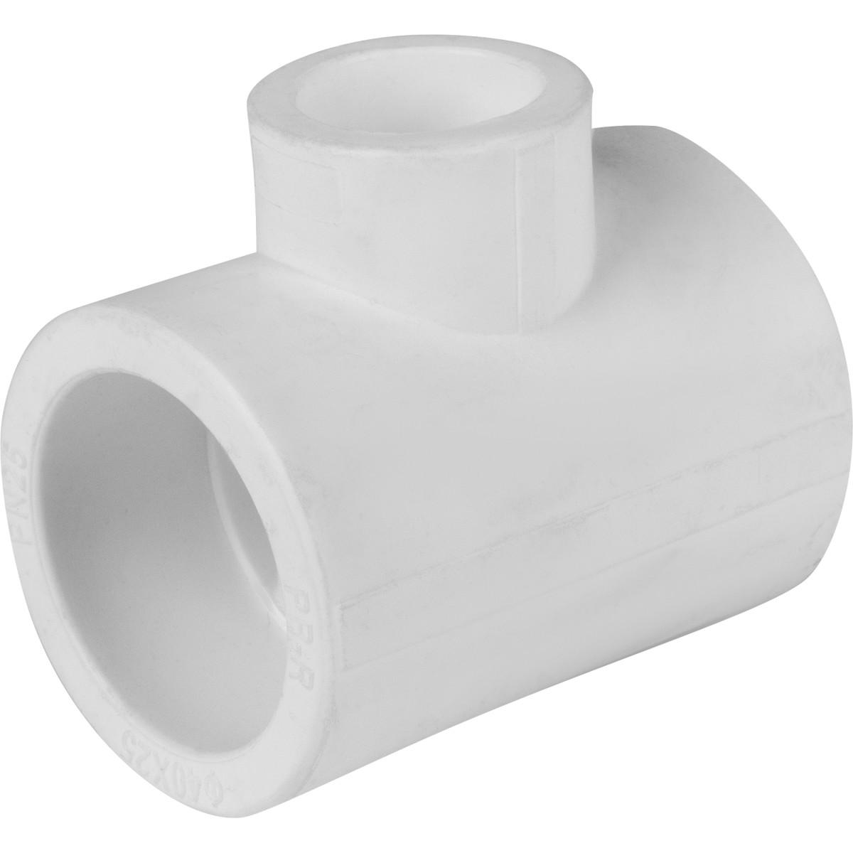 Тройник ⌀40 x 25 x 40 мм полипропилен