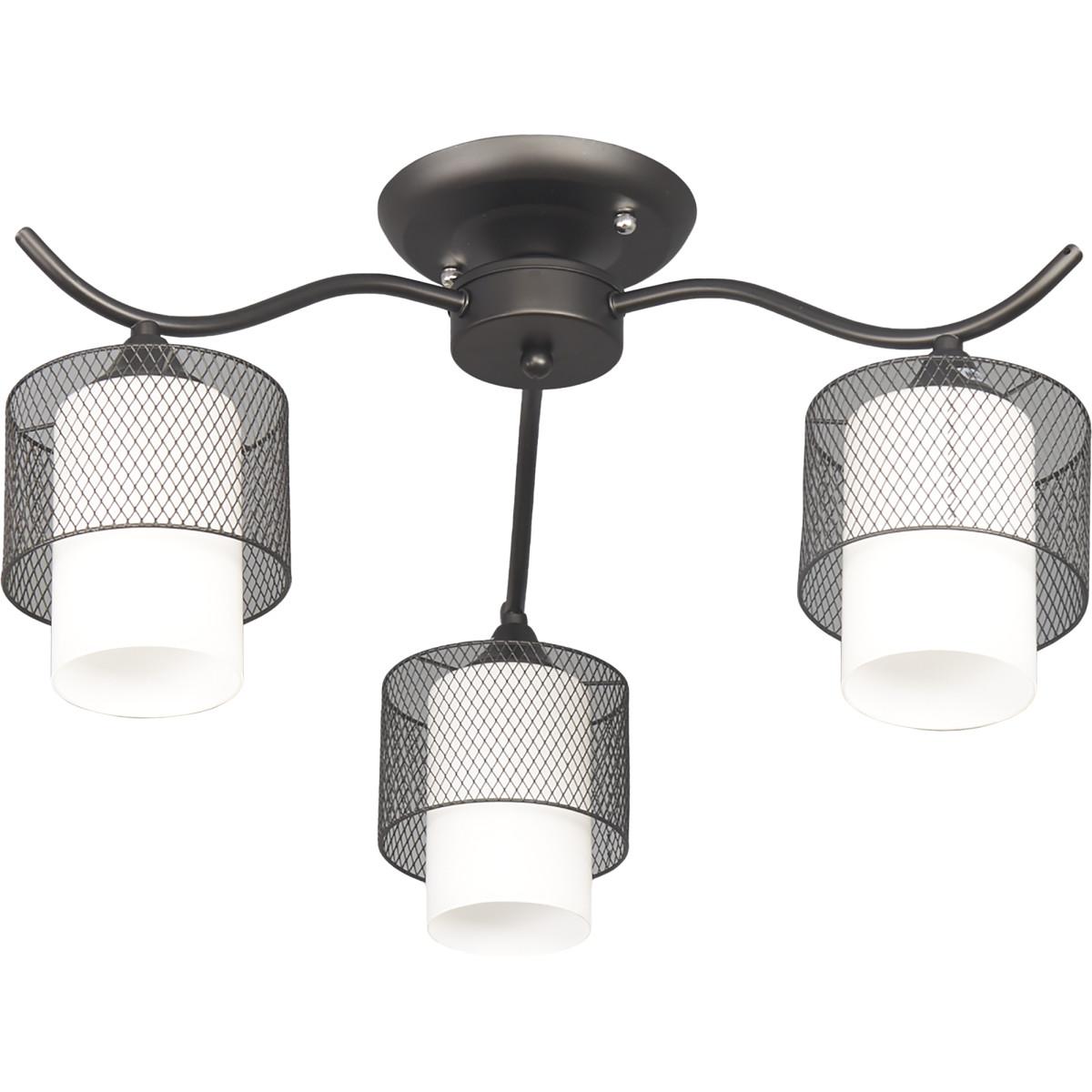 Люстра потолочная Element Fago 2346/3C 3 лампы 12 м² цвет черный