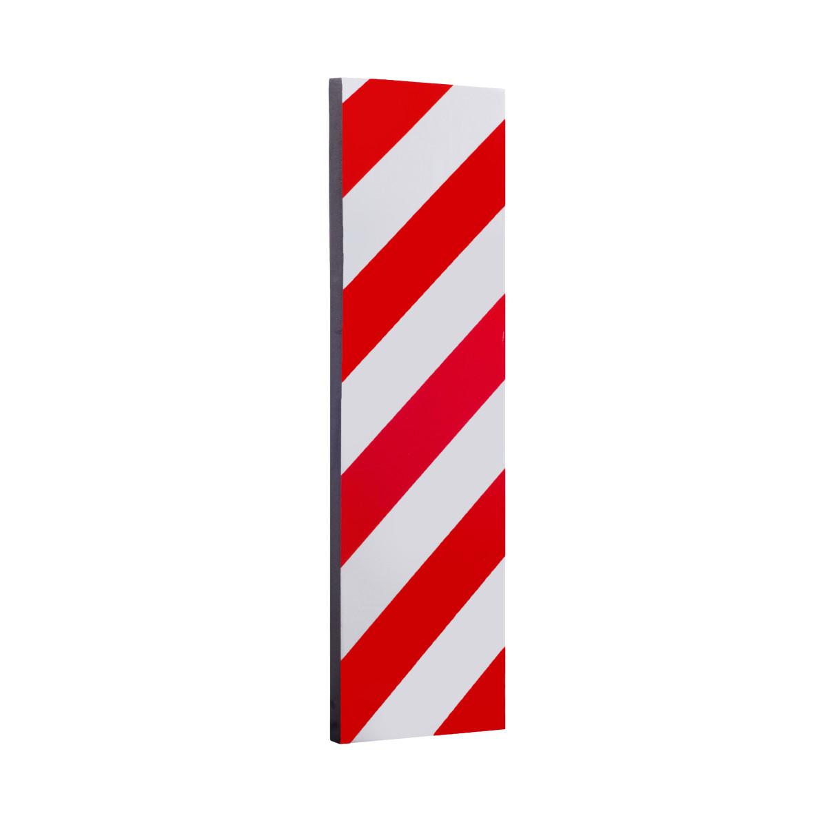Демпфер для стен 50x15 см пластик цвет красный/белый