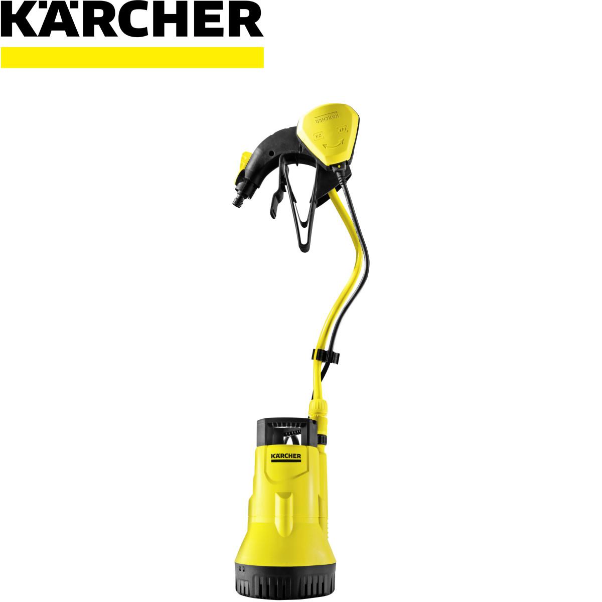 Насос садовый для полива из бочки Karcher BP 1 Barrel 3800 л/час