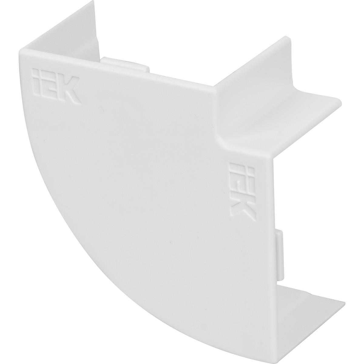 Угол 90 градусов IEK КМП 40/25 мм цвет белый 4 шт.