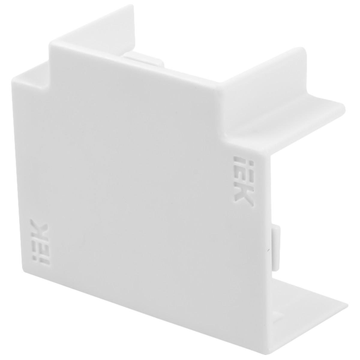 Угол Т-образный IEK КМТ 25/16 мм цвет белый 4 шт.