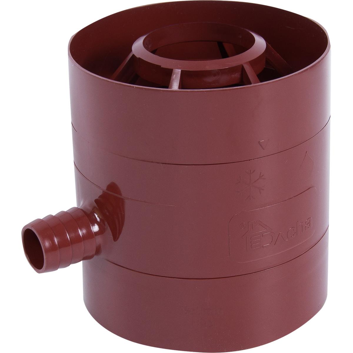 Водосборник Dacha 80 мм красный