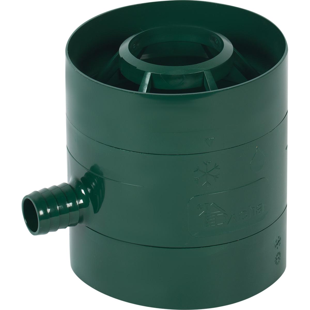 Водосборник Dacha 80 мм зеленый