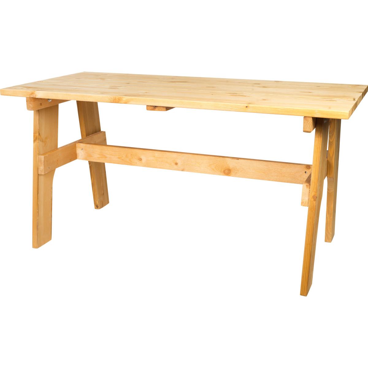 Стол садовый Бьорн 74х70х148 см цвет тик