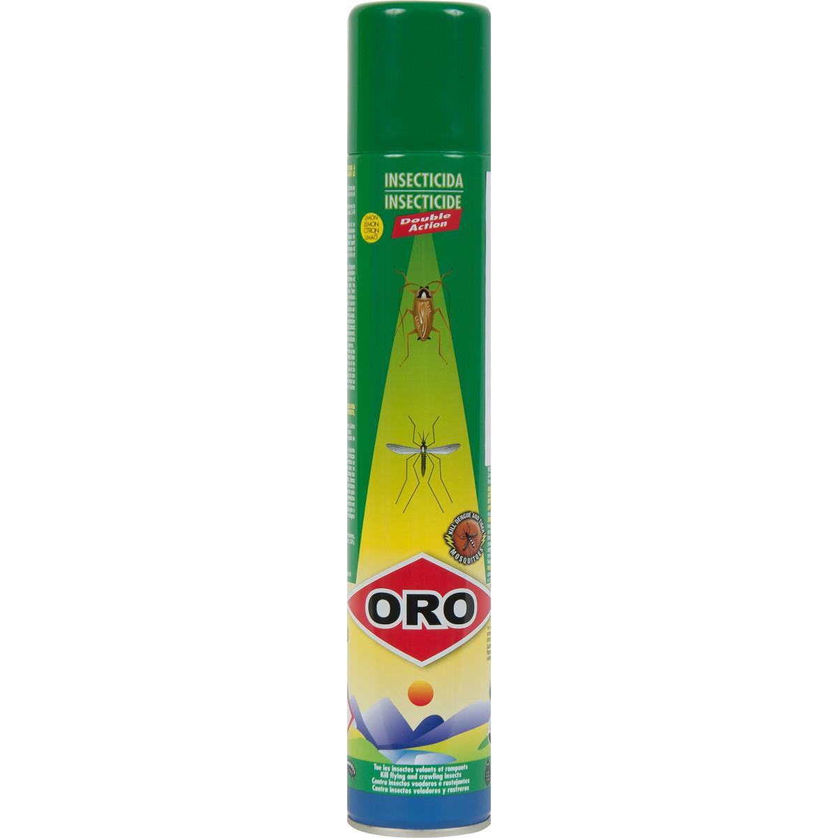 Аэрозоль от всех видов насекомых Oro «Double Action» 400 мл