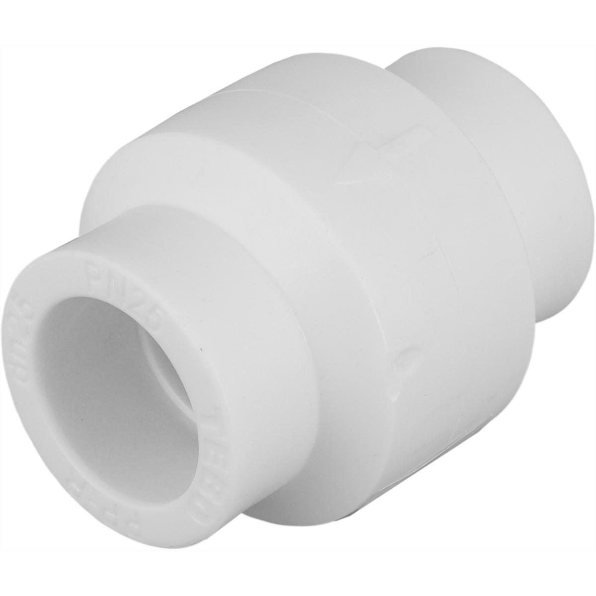 Клапан обратный ⌀25 мм полипропилен