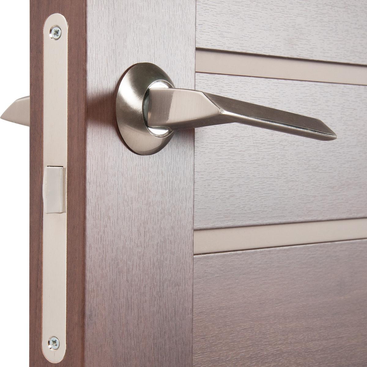 Дверь Межкомнатная Глухая Artens Велдон 70x200 Цвет Мокко/Бронза