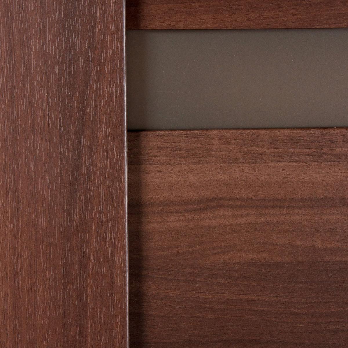 Дверь Межкомнатная Глухая Artens Велдон 60x200 Цвет Мокко/Бронза Без Фурнитуры
