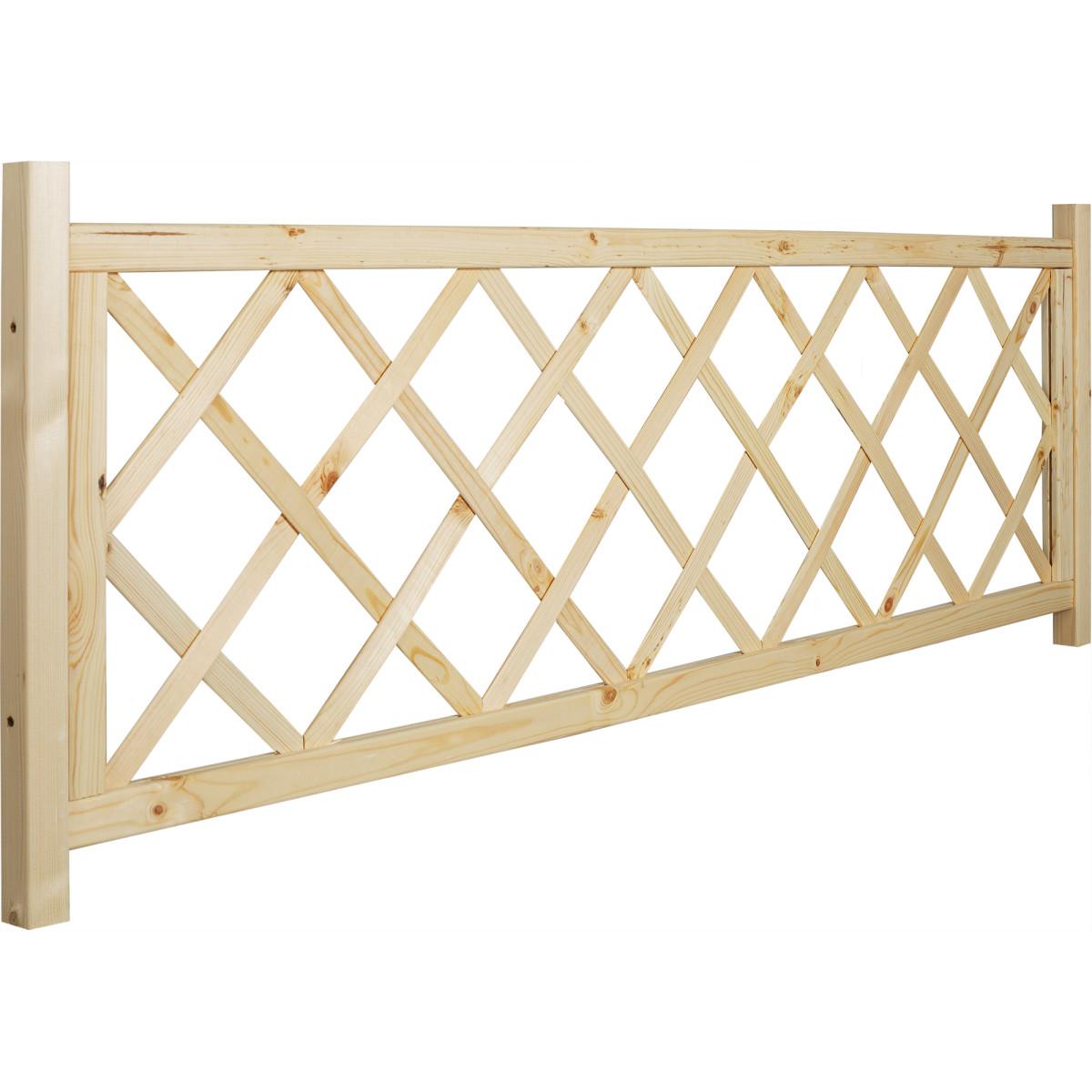 Забор декоративный 0.6х1.68 м