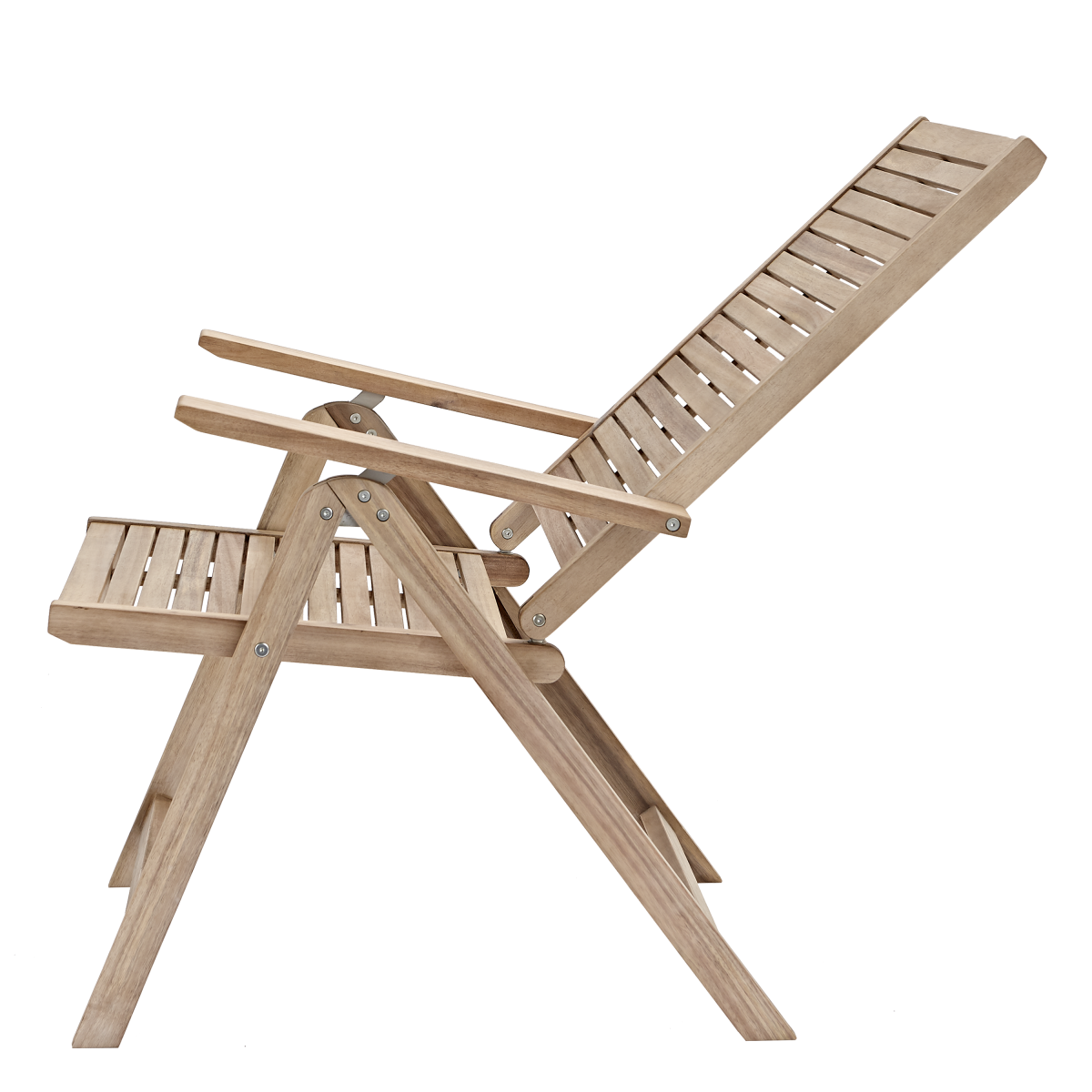 Кресло Садовое Naterial Solaris Origami Складное 59Х59Х1095 Акация Светло-Коричневый