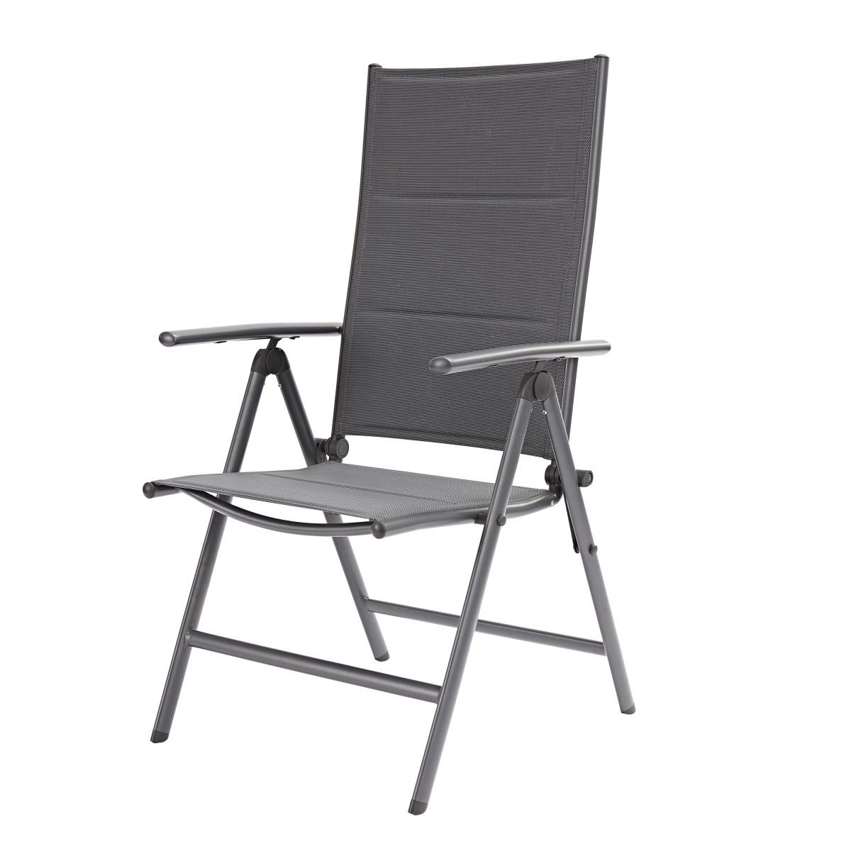 Кресло садовое Naterial Orion темно-серый