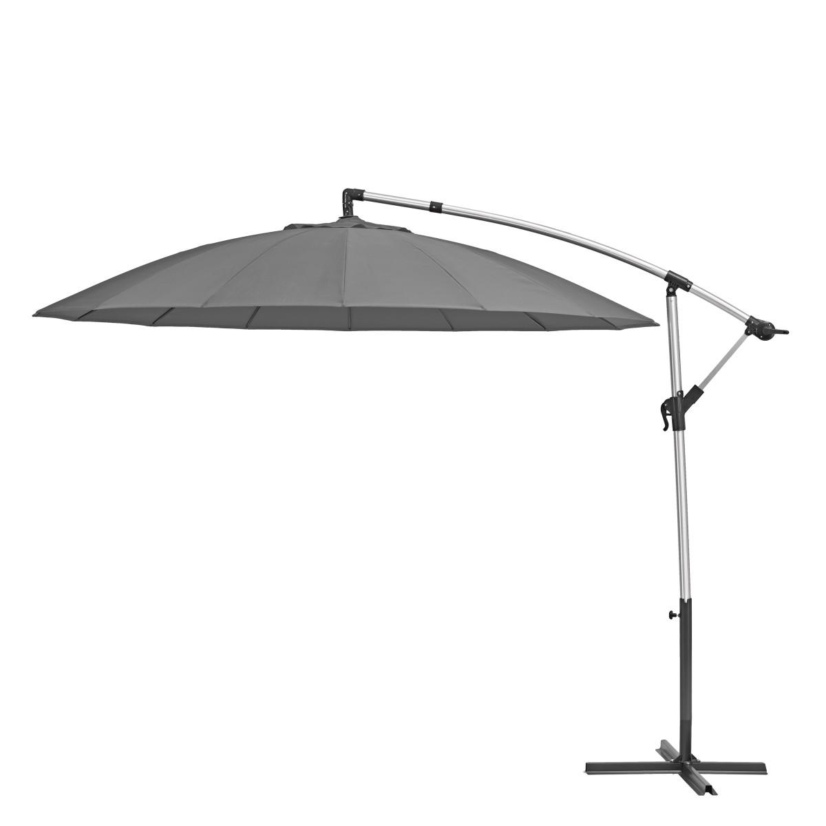 Зонт садовый Naterial Sinae 2.9 м серый с подставкой