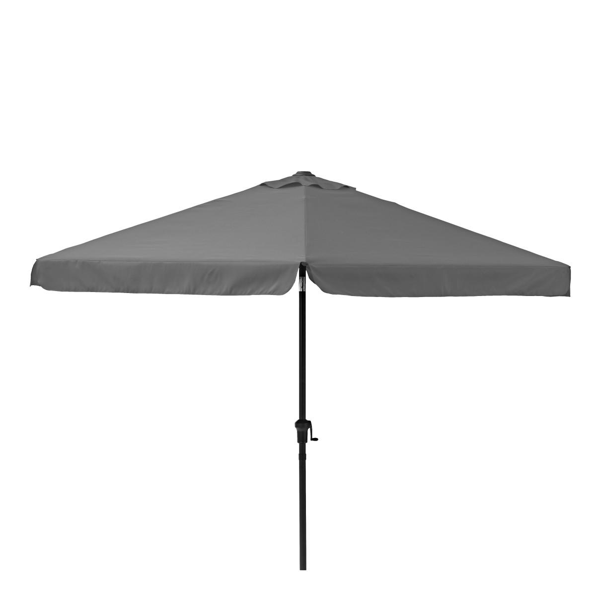 Зонт садовый Naterial Avea 3 м темно-серый