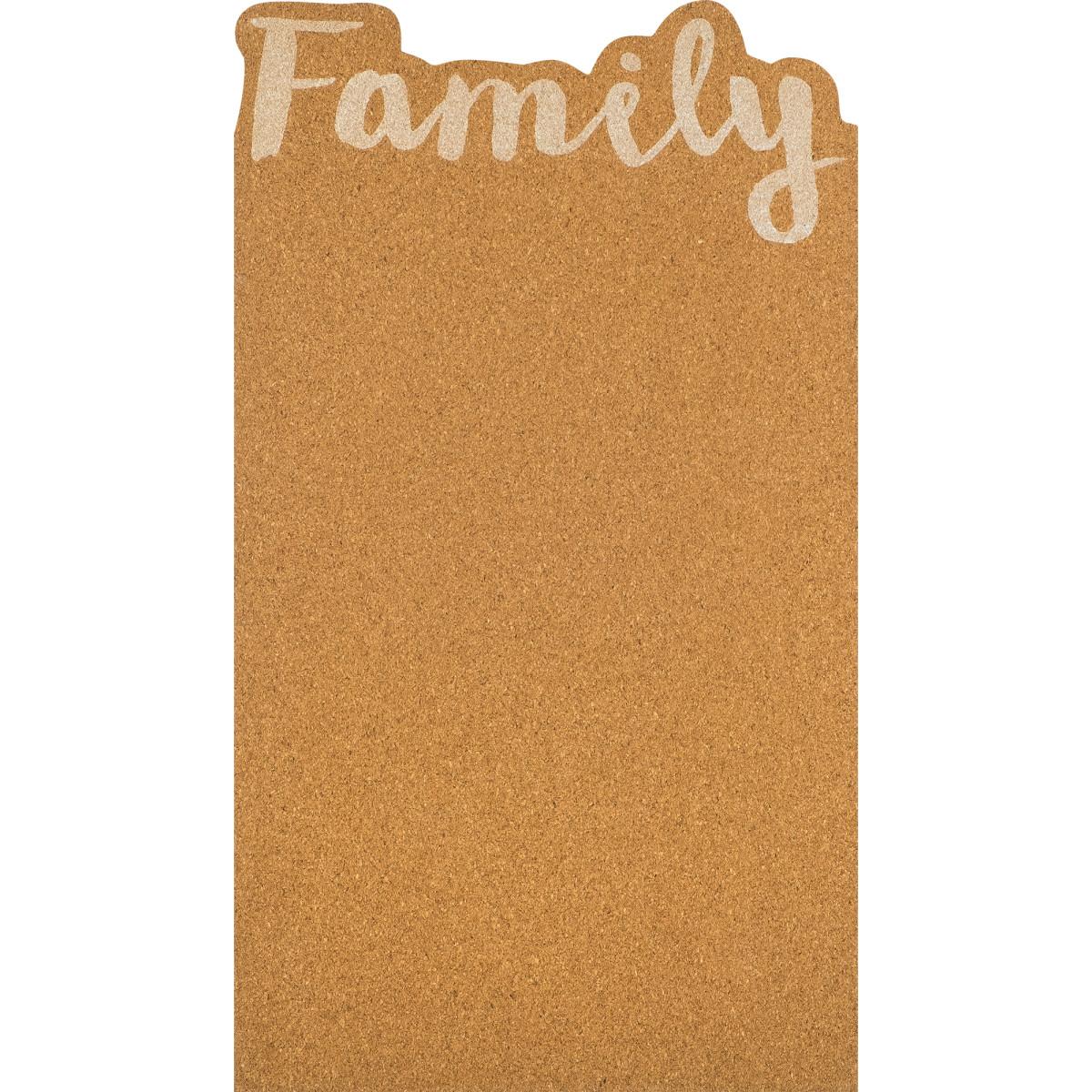 Доска пробковая «Семья» 25х45