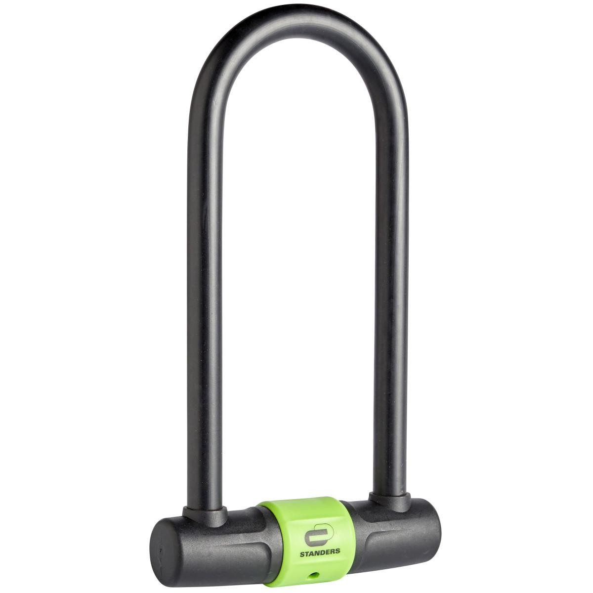 Велосипедный замок с ключом Standers 175x320 мм