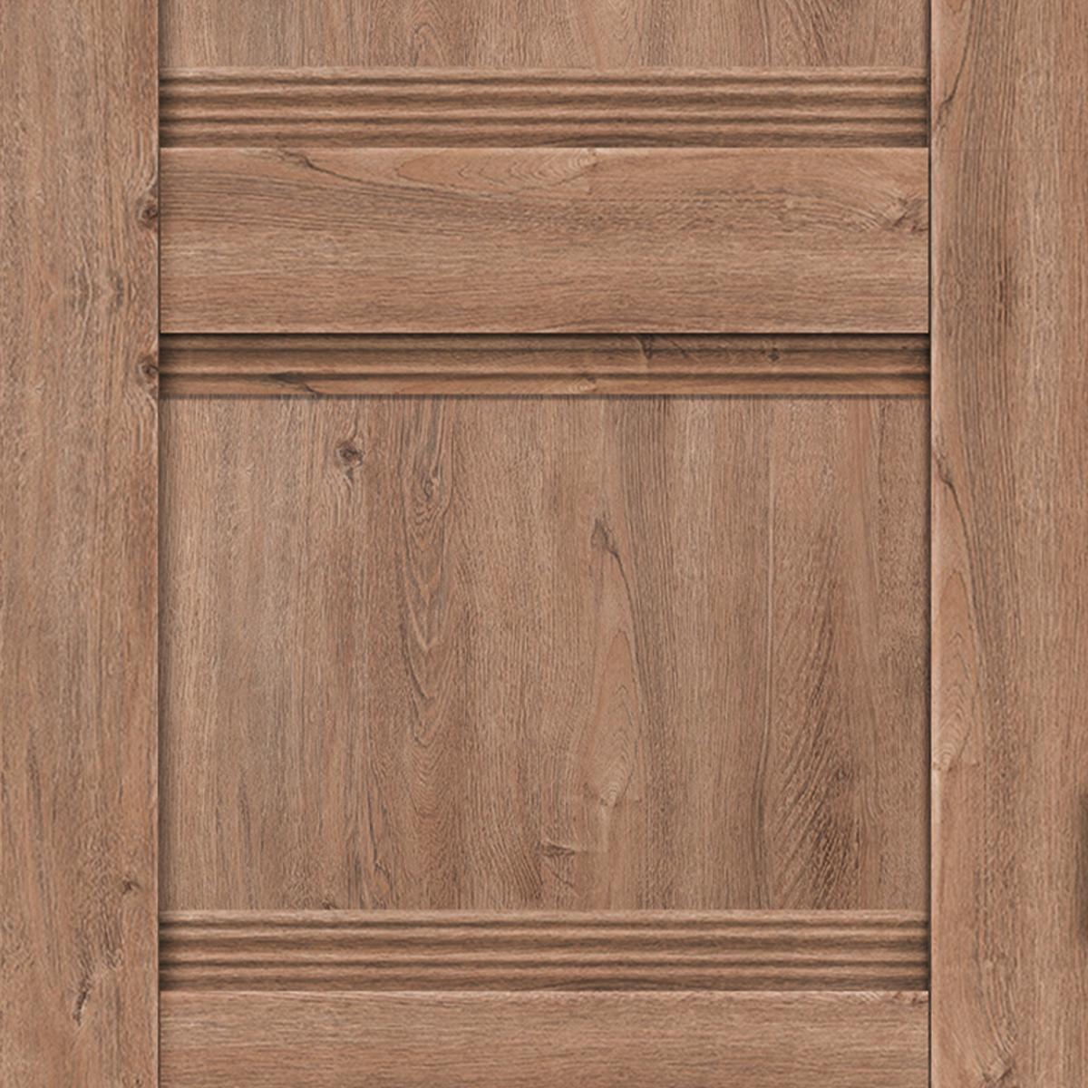 Дверь Межкомнатная Глухая С Замком И Петлями В Комплекте «Тоскана» 80x200 Цвет Дуб Бельмонт