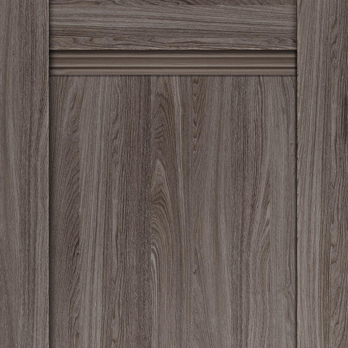 Дверь Межкомнатная Глухая С Замком И Петлями В Комплекте «Тоскана» 60x200 Цвет Ясень Анкор