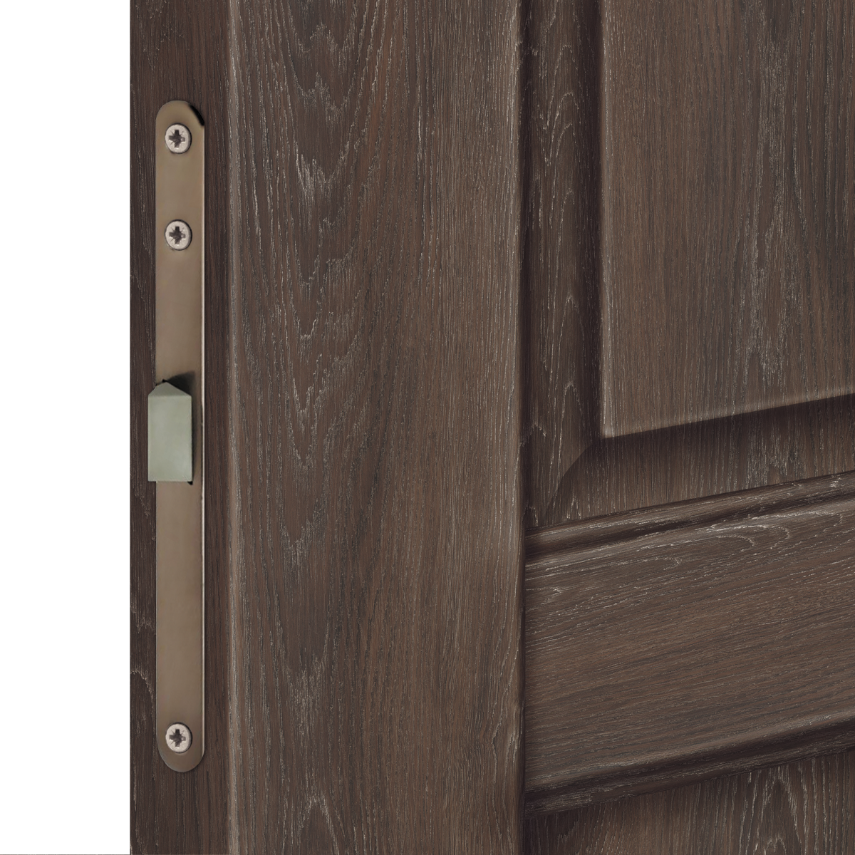 Дверь Межкомнатная Глухая «Летиция» 60x200 Пвх Цвет Дуб Корица С Фурнитурой