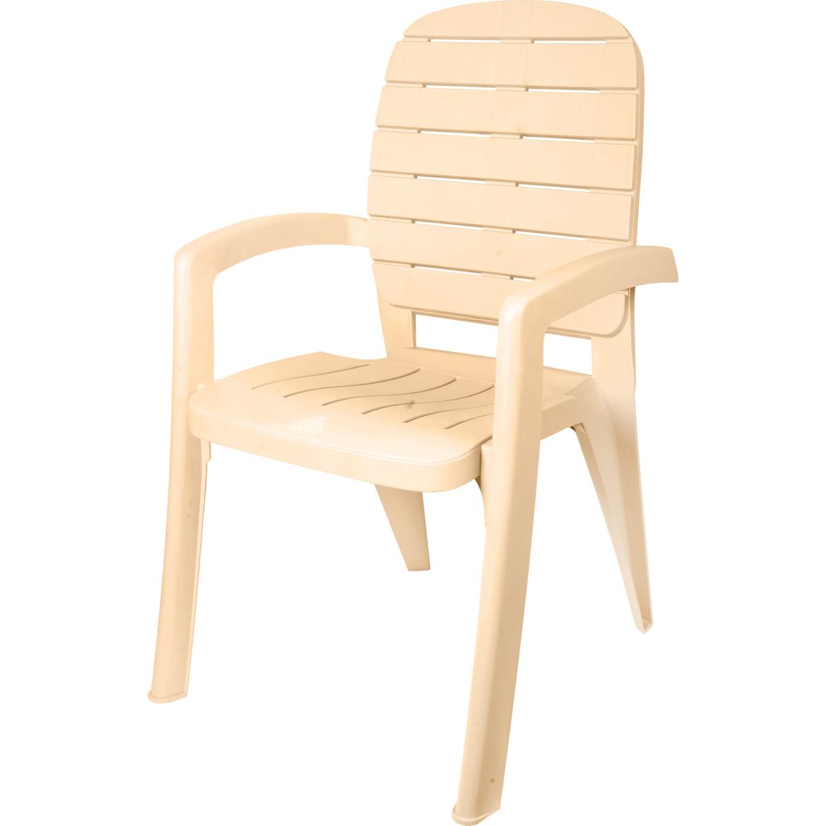 Кресло садовое Прованс цвет бежевый