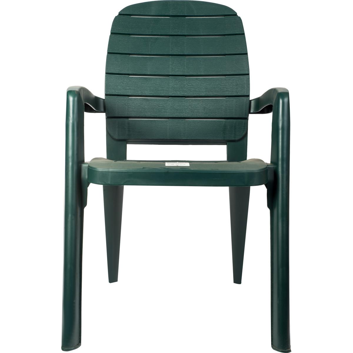 Кресло Садовое Прованс Цвет Темно-Зеленый
