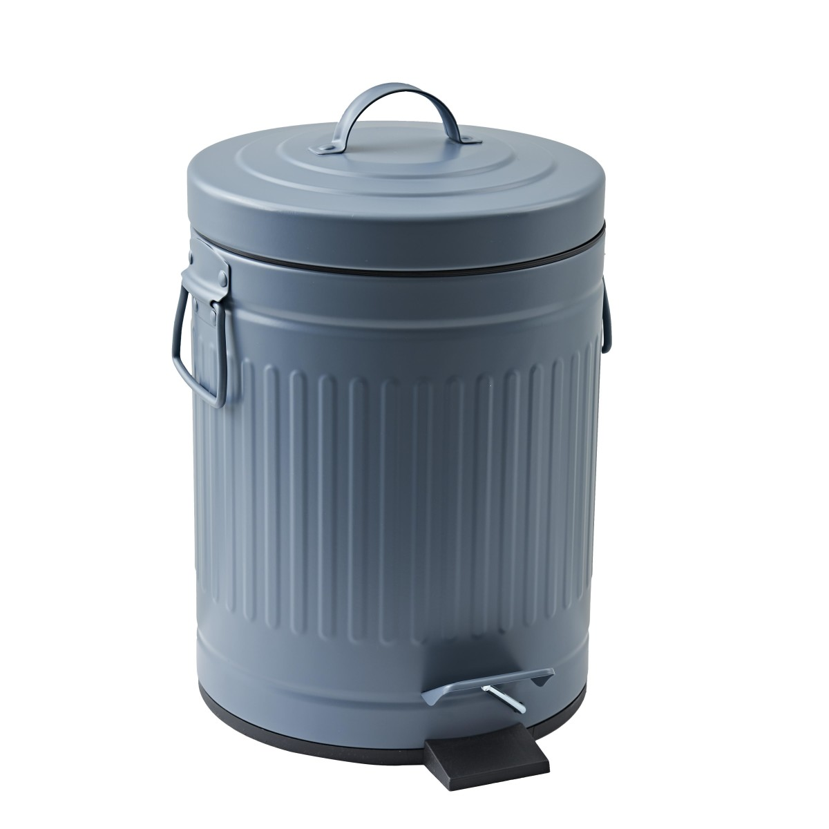 Контейнер для мусора Street 5 л цвет серый/синий