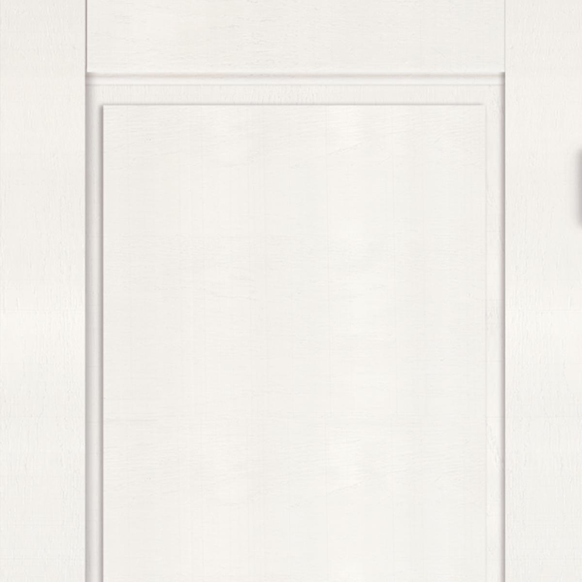 Дверь Межкомнатная Глухая «Летиция» 80x200 Пвх Цвет Дуб Пломбир С Фурнитурой