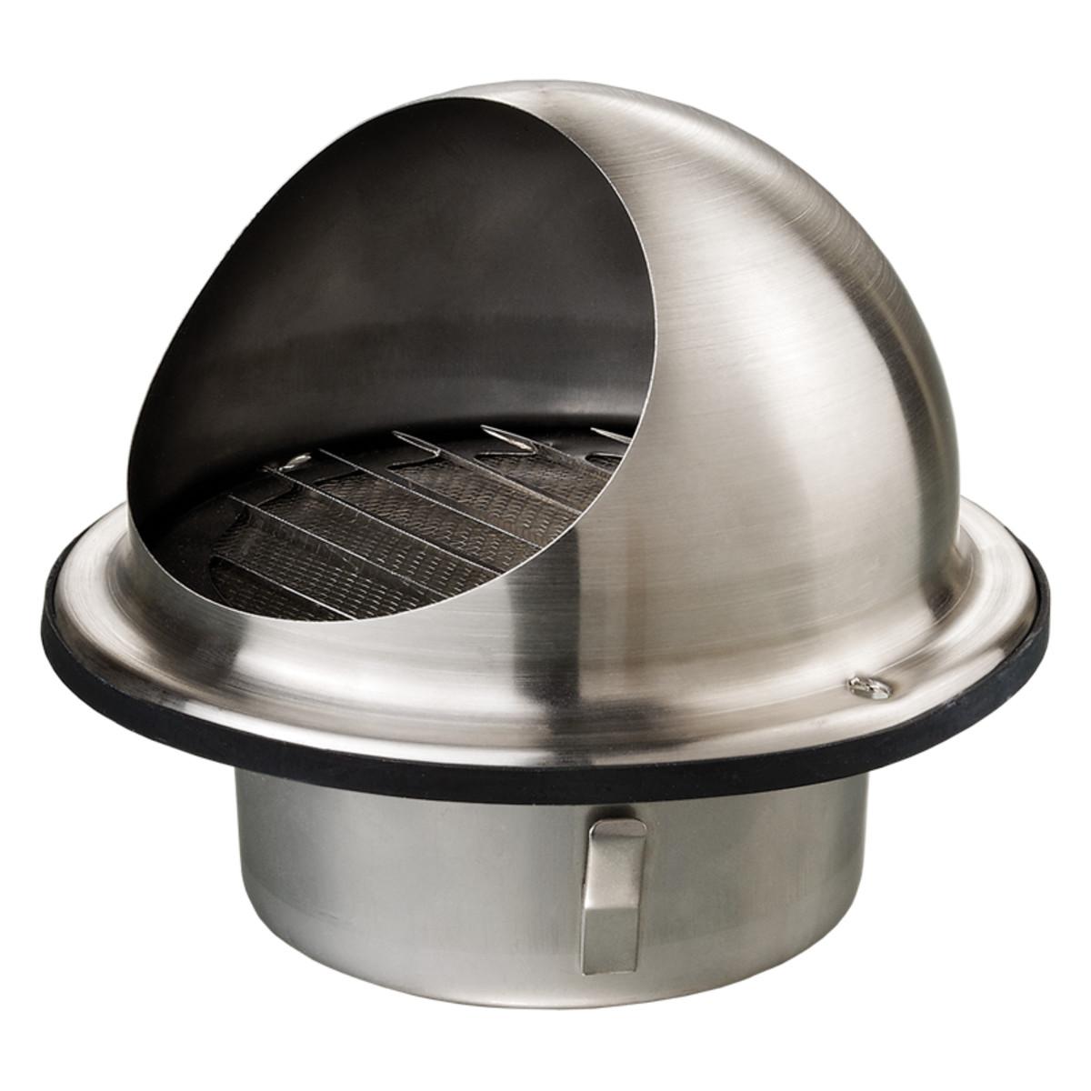 Решетка вентиляционная приточно-вытяжная Вентс МВМ 152 БВ Н нержавеющая сталь